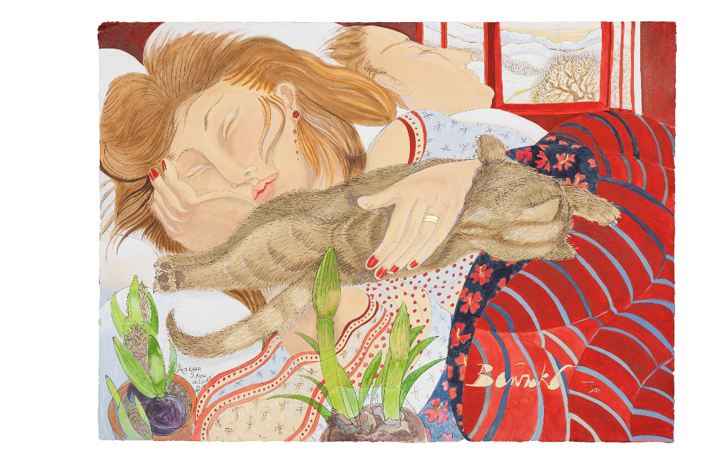 'Asleep With Snow Outside' 2011 Limited Edition Giclee Print