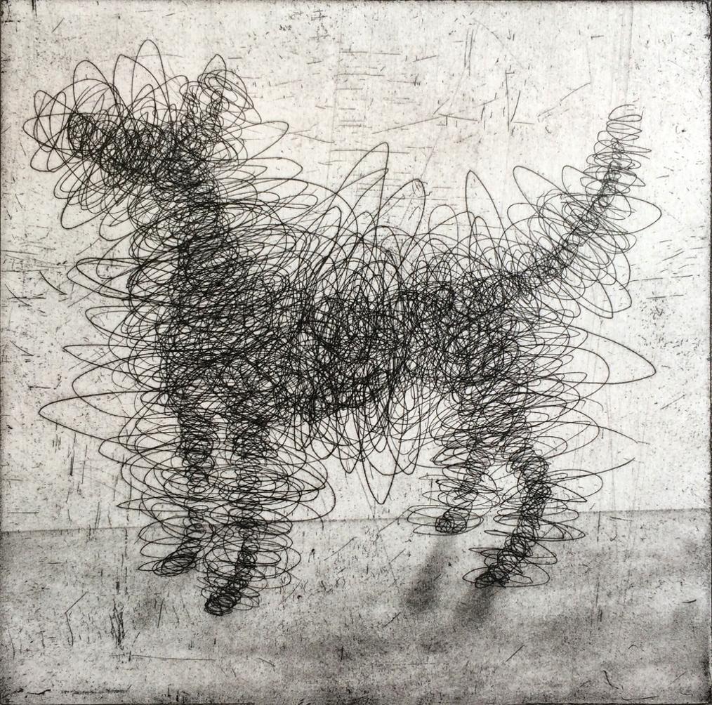 Antony Gormley's dog