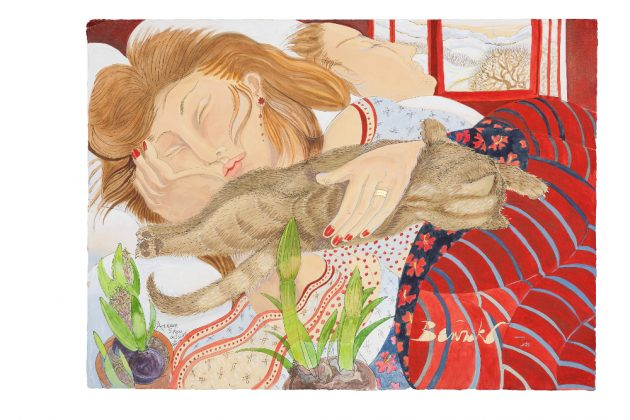Asleep With Snow Outside 2011 Limited Ed Print Edited size